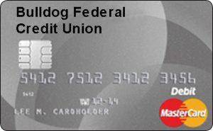 Bulldog FCU Debit MasterCard