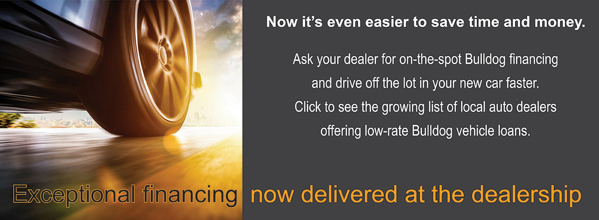 Exceptional financing now delivered at the dealership
