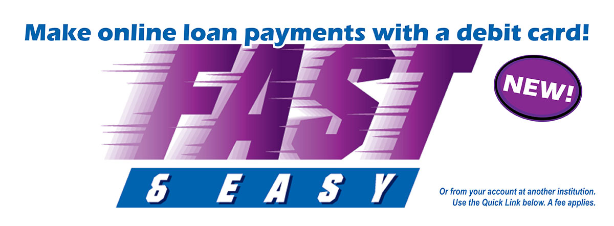 make fast and easy online loan payments with a debit card