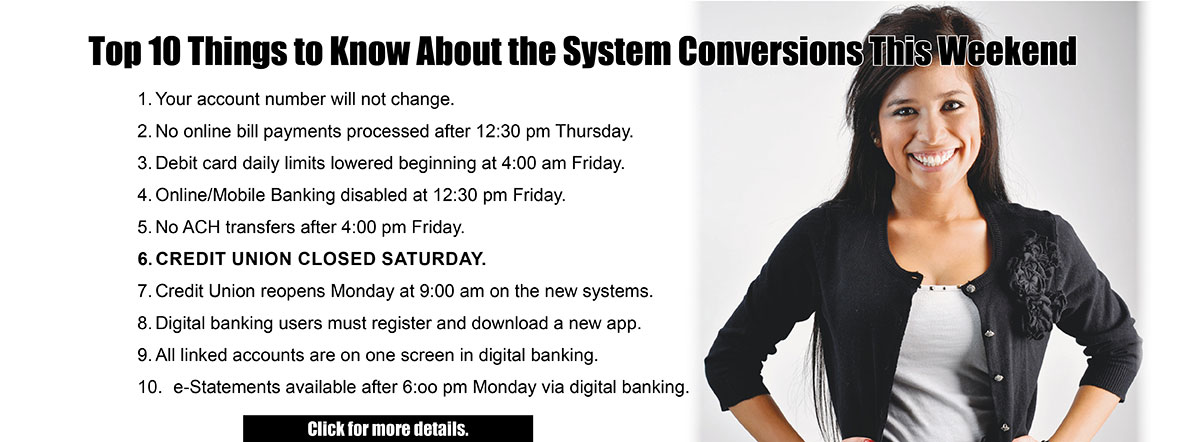 Top 10 things to know about the system conversions this weekend